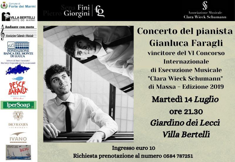 L'altra Villa in: Concerto per pianoforte con Gianluca Faragli