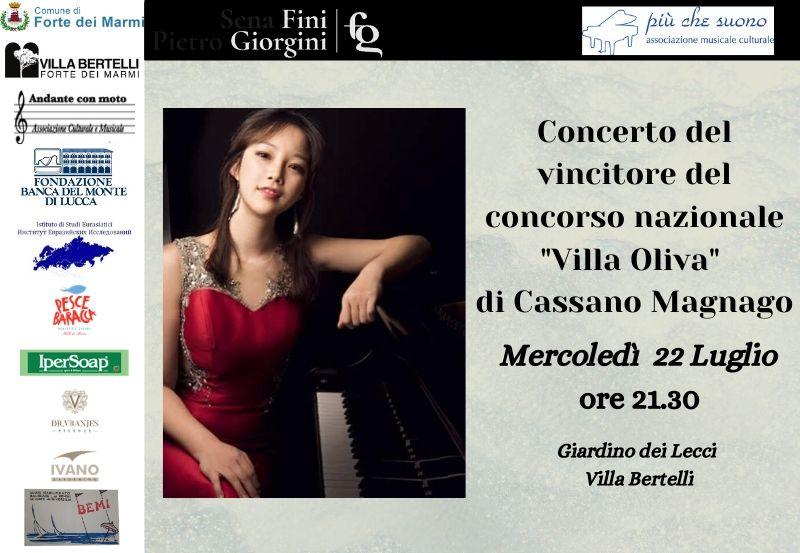 """Concerto vincitore concorso """"Villa Oliva"""""""