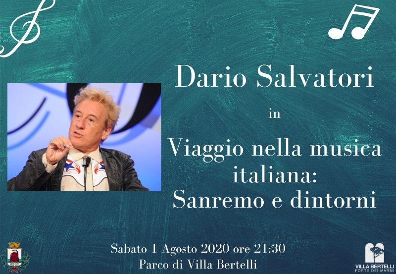 Parliamone in Villa con Dario Salvatori in Il Salvatori 2020