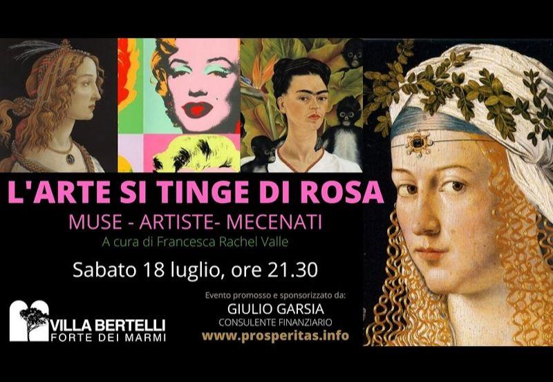 """L'altra Villa in """"L'arte si tinge di rosa"""" di Francesca R. Valle"""