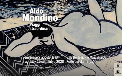 """Finissage mostra """"Viaggi straordinari"""" di Aldo Mondino – Sabato 3 ottobre"""