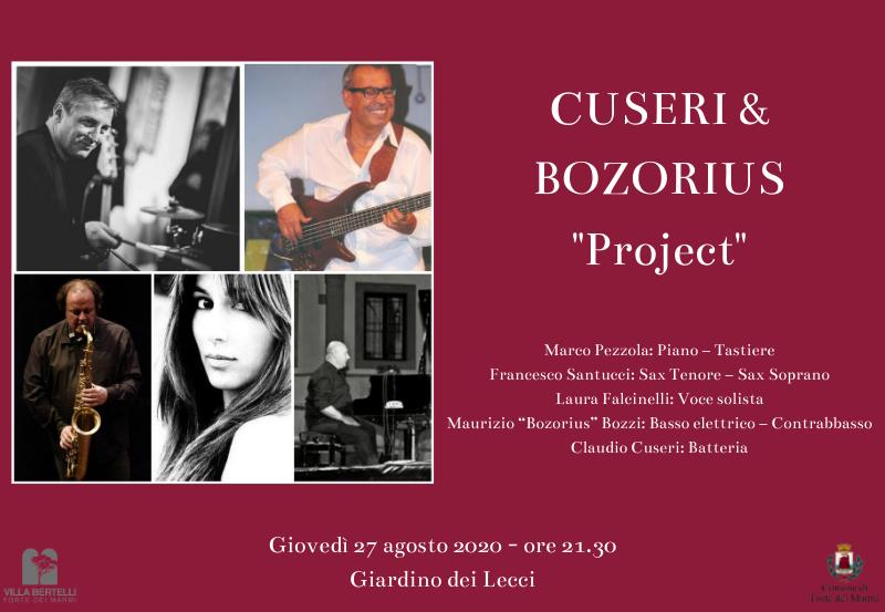 """Concerto: Cuseri & Bozorius """"Project"""""""