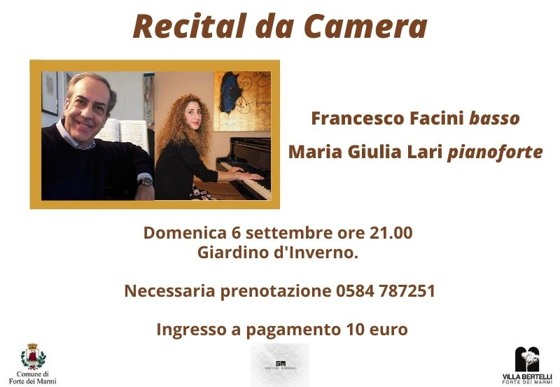 """Concerto """"Lirica da Camera"""" alla rassegna Sentieri Musicali"""
