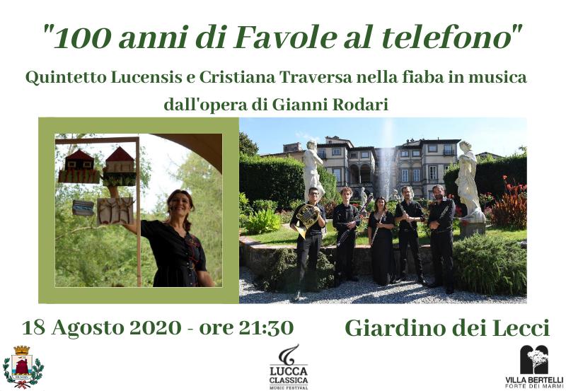 """""""100 anni di Favole al telefono"""". Fiaba in musica da Gianni Rodari"""