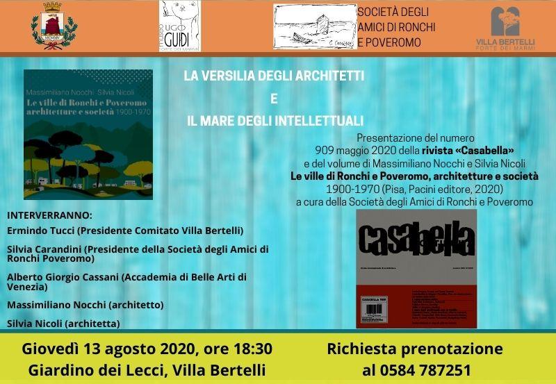 La Versilia degli architetti e il mare degli intellettuali