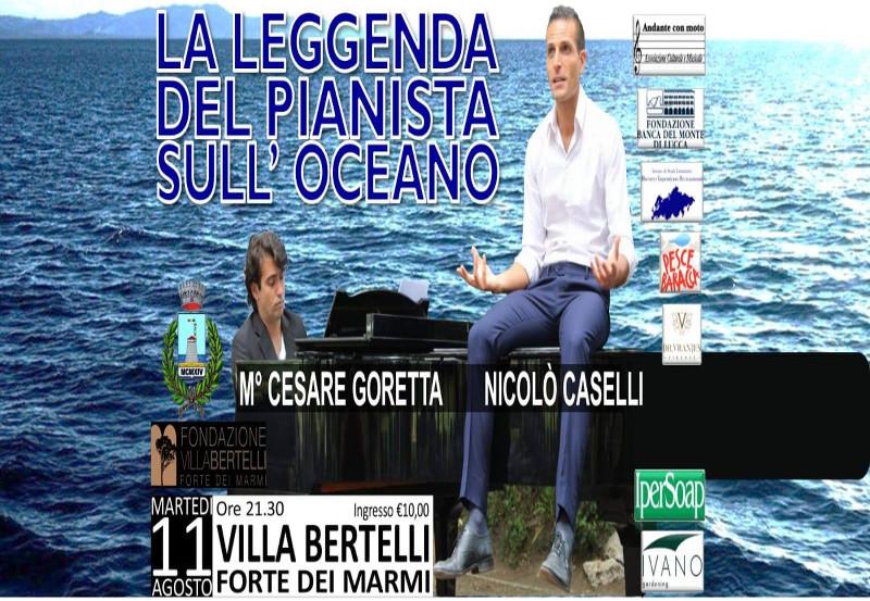 """Evento Concerto """"La leggenda del pianista sull'Oceano"""""""