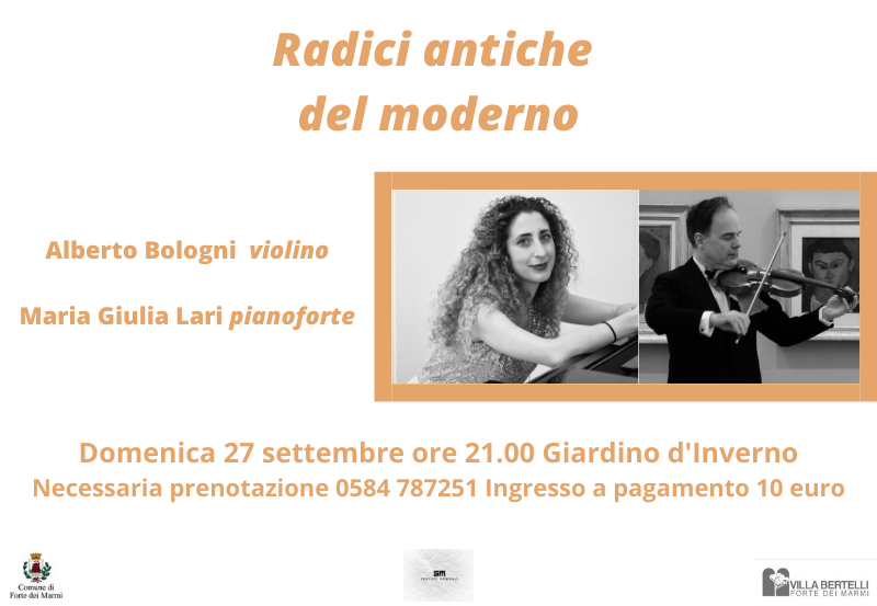 """Concerto """"Radici Antiche del moderno"""" – Rassegna Sentieri Musicali"""