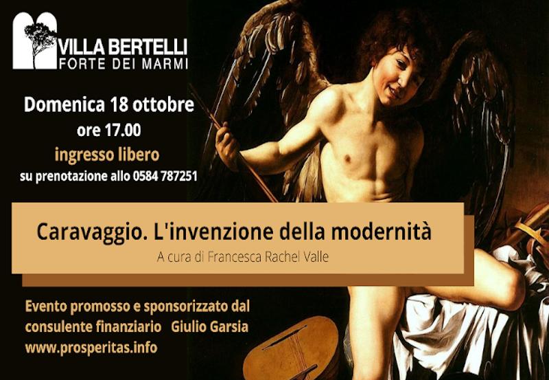 """""""Caravaggio. L'invenzione della modernità"""". Con Francesca Rachel Valle"""