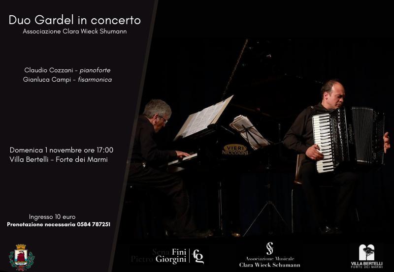Duo Gardel in concerto – Associazione Clara Wieck Shumann