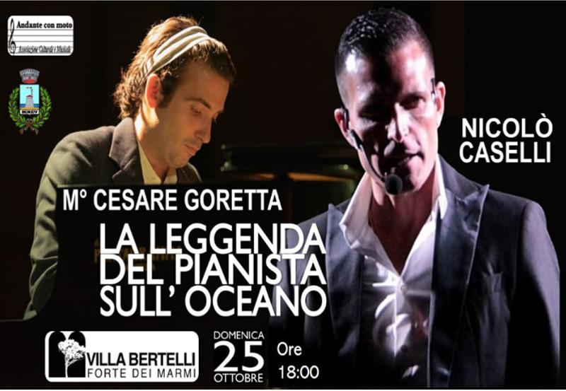 """""""La Leggenda del pianista sull'oceano. Parole e Musica"""" Concerto"""