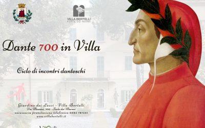 DANTE 700 IN VILLA: Ciclo di incontri danteschi a Villa Bertelli