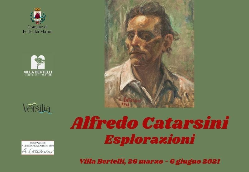 """""""Alfredo Catarsini – Esplorazioni"""" a Villa Bertelli. Visitabile con un tour virtuale"""