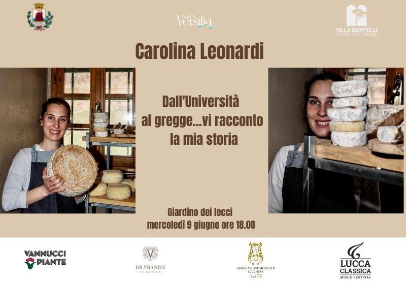 Carolina Leonardi – Dall'Università al gregge…vi racconto la mia storia