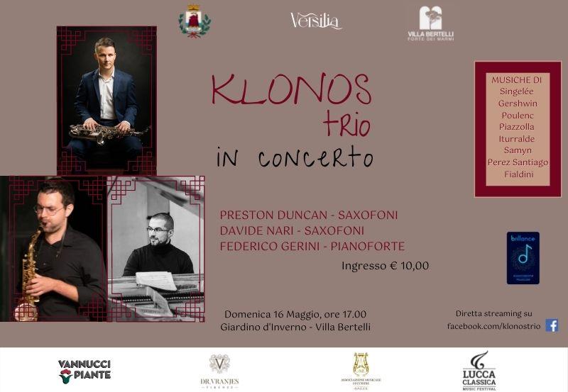 Klonos Trio in concerto
