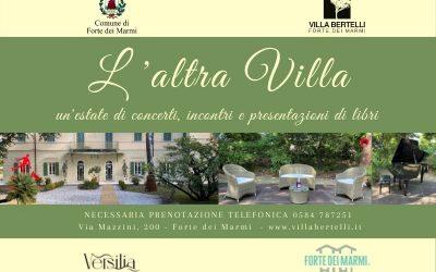L'altra Villa – Musica, arte e letteratura