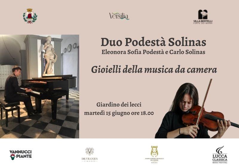 Gioielli della musica da camera – Duo Podestà Solinas