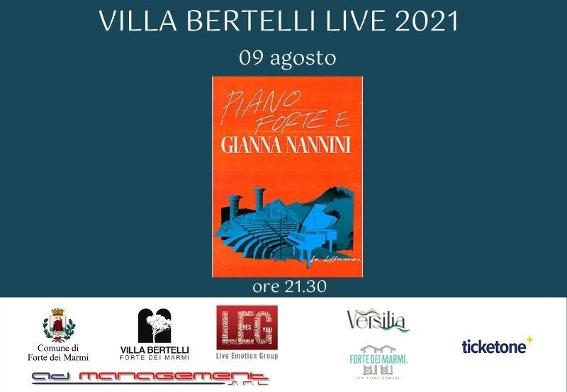 """Gianna Nannini in """"Piano forte e Gianna Nannini"""""""