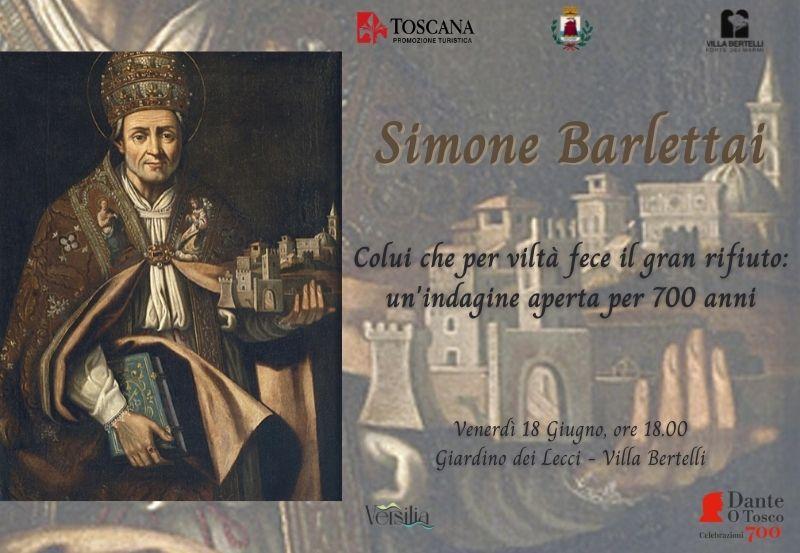 """Simone Barlettai in """"Colui che fece per viltà il gran rifiuto: un'indagine aperta da 700 anni"""""""