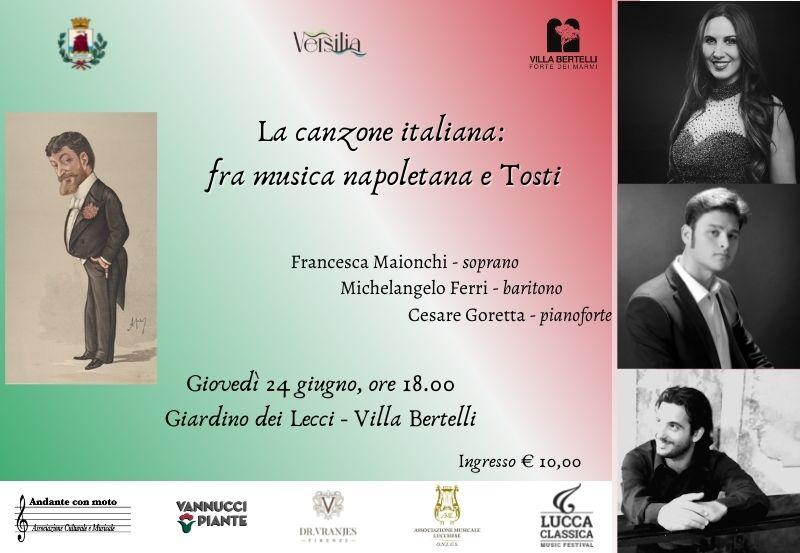 La canzone italiana: tra musica napoletana e Tosti
