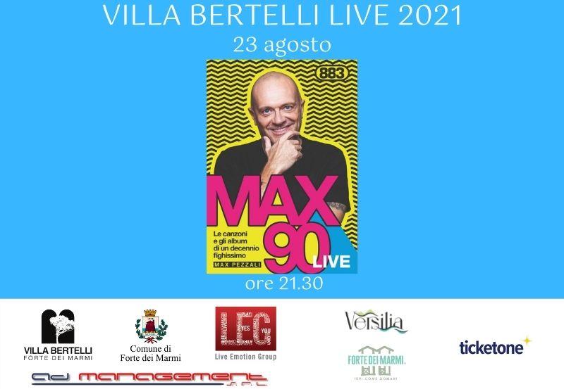 """Max Pezzali in """"Max90 Live"""""""
