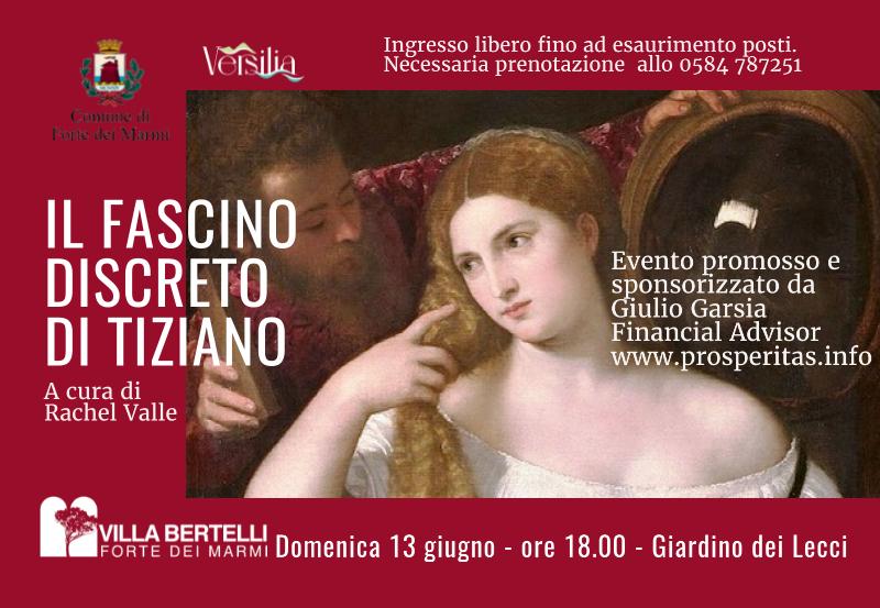 """Francesca Rachel Valle in """"Il fascino segreto di Tiziano"""""""